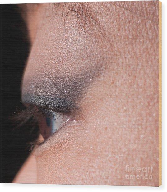 Asian Eye 1283057 Wood Print