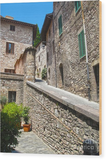 Assisi Italy Wood Print