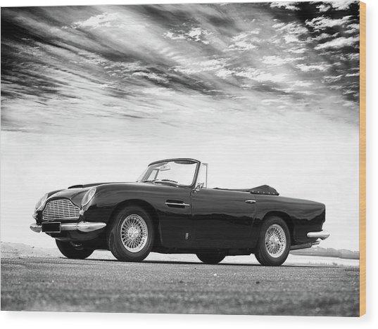 Aston Db5 1964 Wood Print
