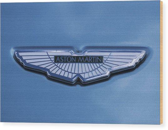 Aston Martin Wood Print