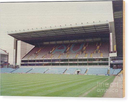Aston Villa - Villa Park - North Stand 1 - April 1993 Wood Print