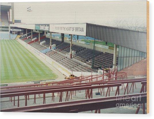 Aston Villa - Villa Park - Witton Lane Stand 1 - April 1993 Wood Print
