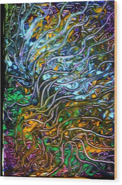 Astral Weeks Wood Print by Gayland Morris