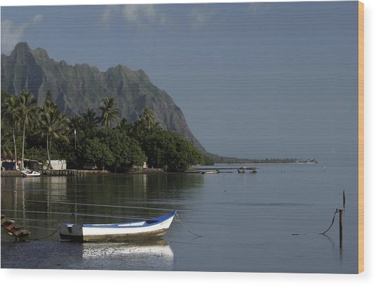 At Rest, Oahu Wood Print