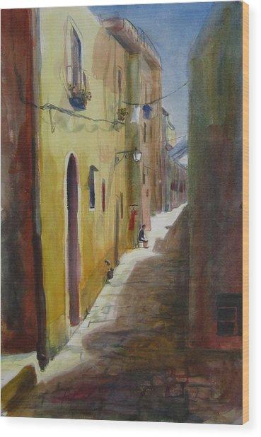 Atena Lucana Wood Print