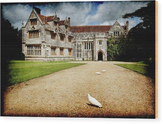 Athelhamptom Manor House Wood Print
