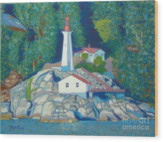 Atkinson Point Lighthouse Wood Print