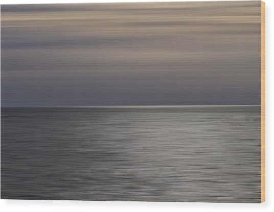 Atlantic Sunrise  Wood Print