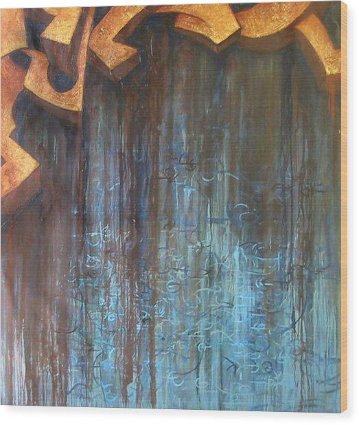 Atlantis Wood Print by Monica James