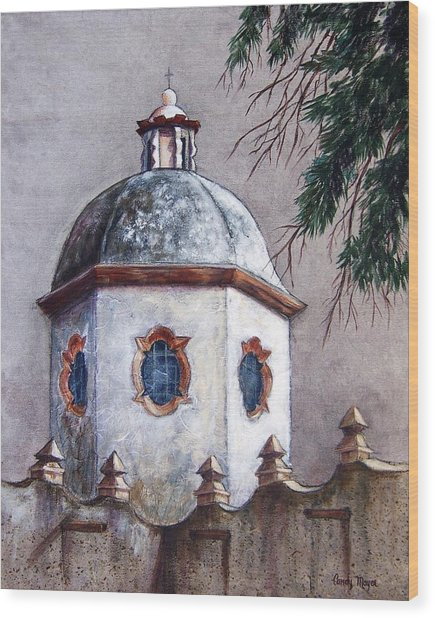 Atotonilco Wood Print by Candy Mayer