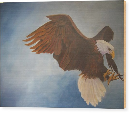 Attack Life Wood Print by Bill Werle