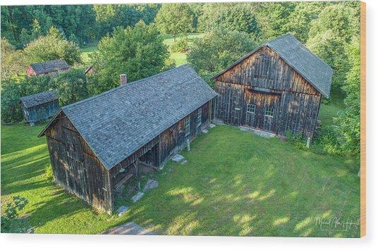 Atwood Farm Wood Print