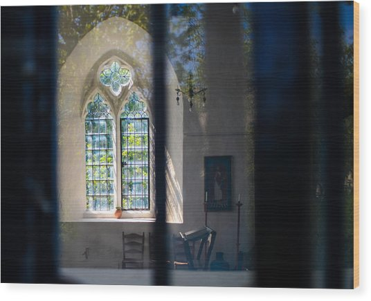 Augustinian Reflection Wood Print