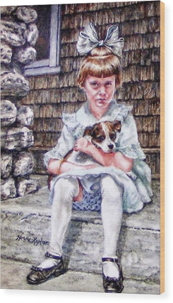 Aunt Eve 1919, Finders Keepers Wood Print