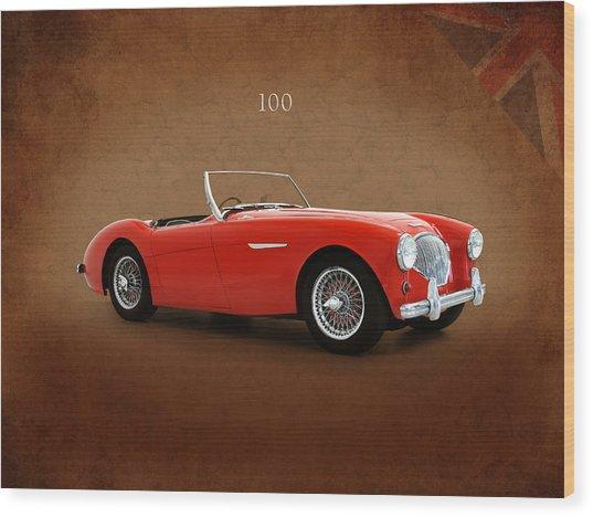 Austin Healey 100 1955 Wood Print