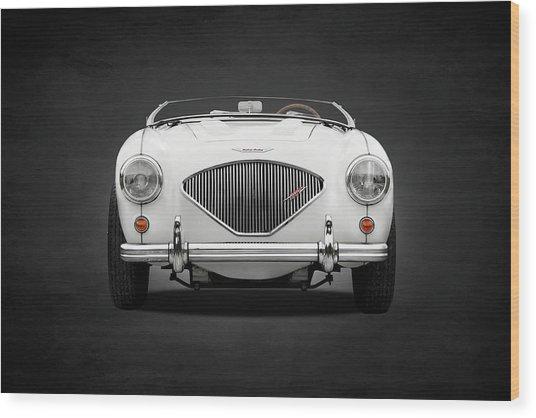 Austin Healey 100 Le Mans Wood Print