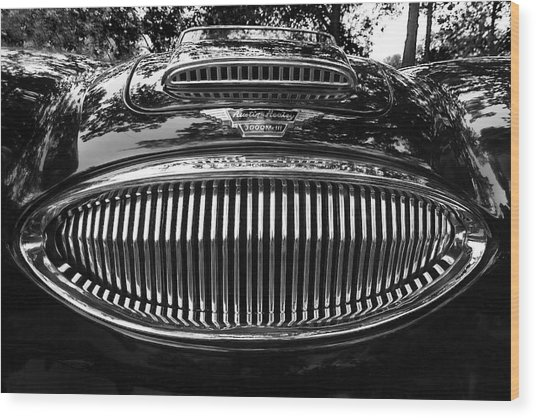 Austin Healey 3000 Mkiii Wood Print