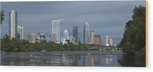 Austin Texas 2009 Wood Print