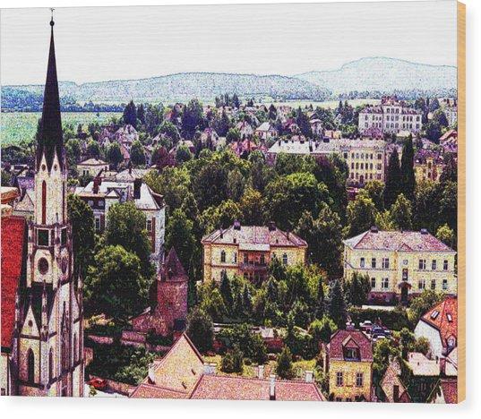 Austria Views 1 Wood Print