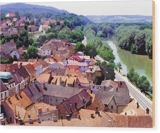 Austria Views 2 Wood Print