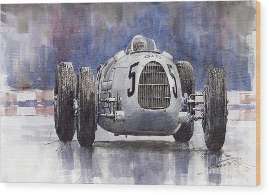 Auto-union Type C 1936 Wood Print