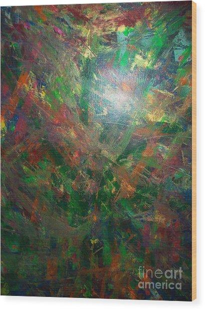 Autum Forrest 1 Wood Print