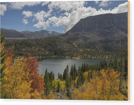Autumn At Rock Creek Lake Wood Print