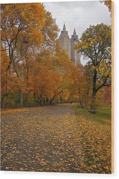 Autumn At The El Dorado Wood Print