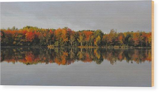 Autumn Beauty - Nova Scotia Landscape Wood Print