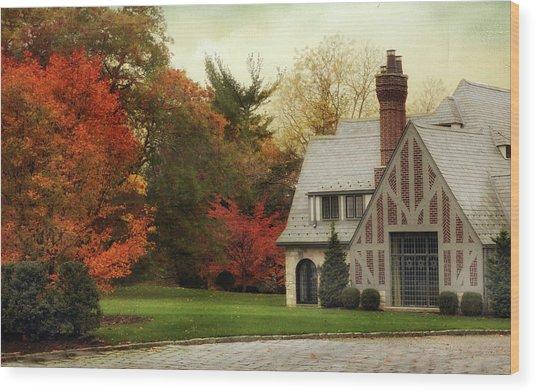 Autumn Grandeur Wood Print