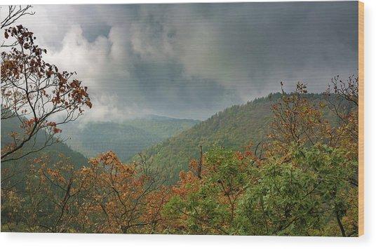 Autumn In The Ilsetal, Harz Wood Print