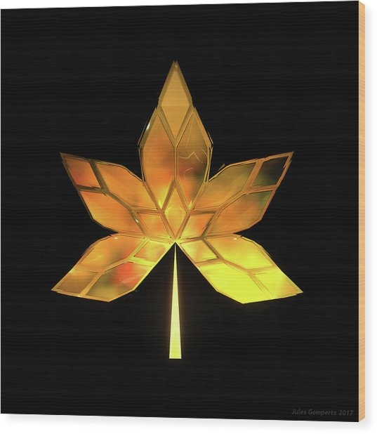 Autumn Leaves - Frame 200 Wood Print