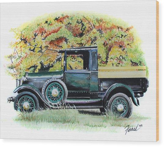 Autumn Of Life Wood Print