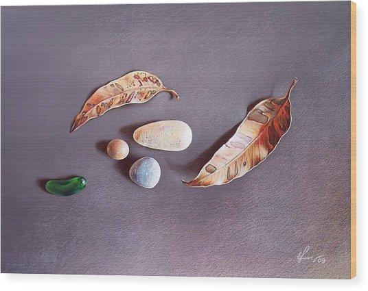 Autumn Still Life Wood Print by Elena Kolotusha