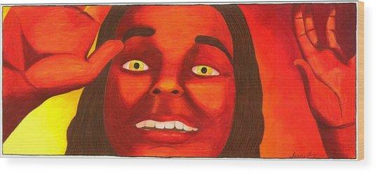 Autumn Sun Wood Print by Jasmine Payne