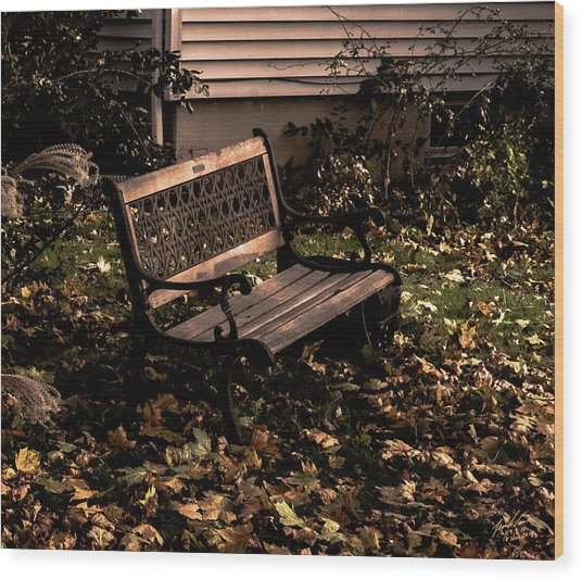 Autumnal Solace Wood Print