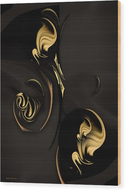 Autumnal Spirit Wood Print