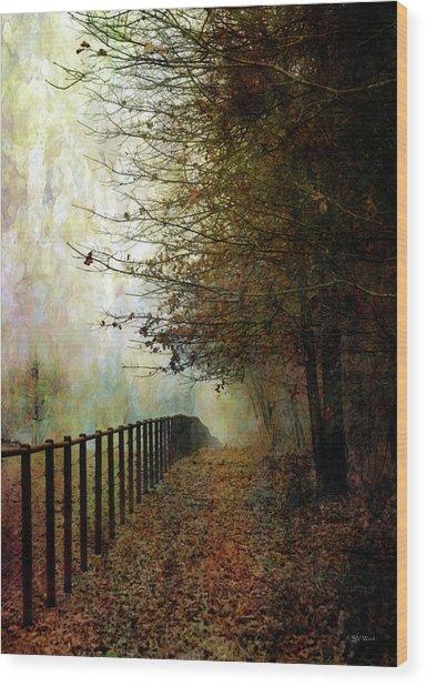 Autumns Path 7864 Idp_2 Wood Print