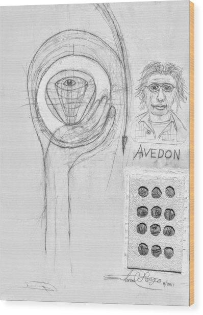 Avedon Master Of The Lens Wood Print