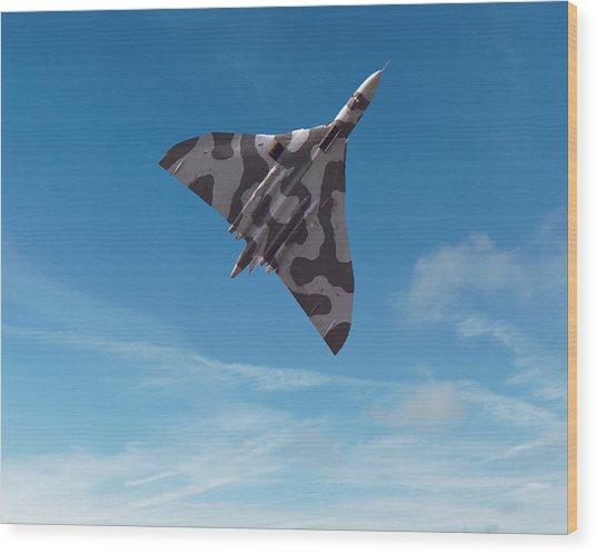 Avro Vulcan -1 Wood Print