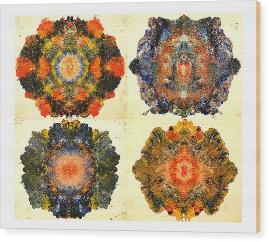Axiology Wood Print by Howard Goldberg