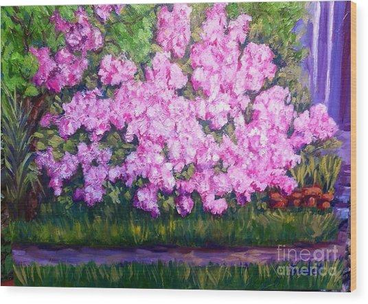 Azalea Spring Wood Print