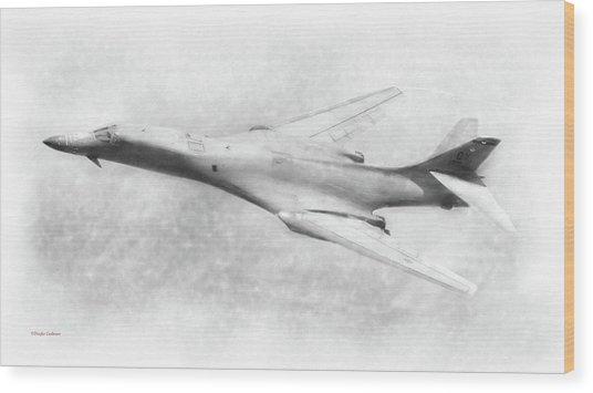 B-1b Lancer Wood Print
