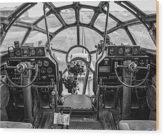 B-29 Fifi Wood Print