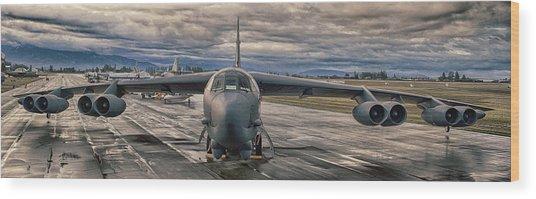 B-52 Wood Print