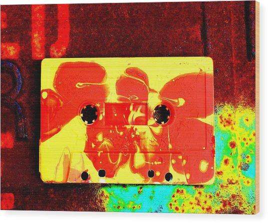 B-side Wood Print