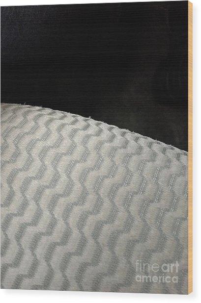 B/w 01 Wood Print