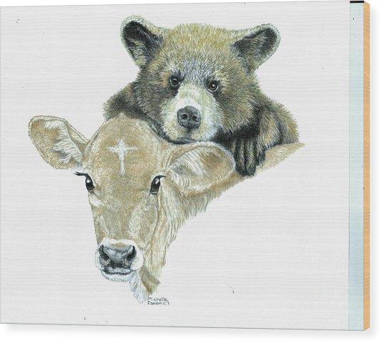 Babies Wood Print by Michelle Bachoroski