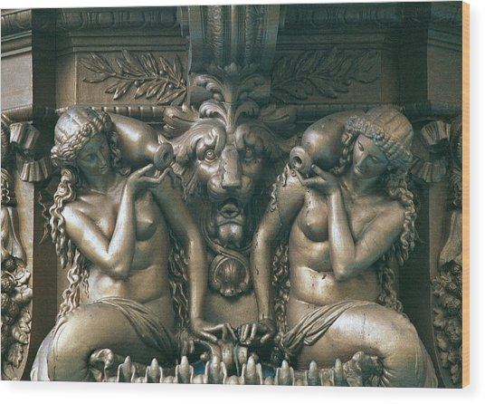 Bacchus Wood Print