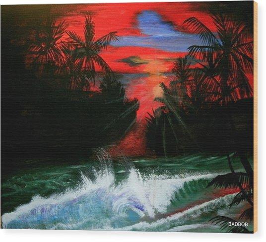 Badsailer Wood Print